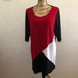 Star Vixen 3/4 sleeve blouse, size 2X